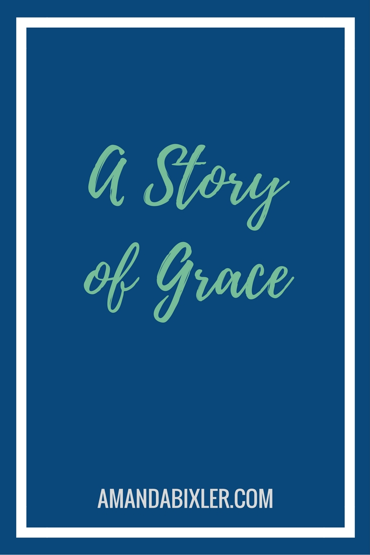 A truly powerful story of God's grace and goodness, His faithfulness never ends | amandabixler.com