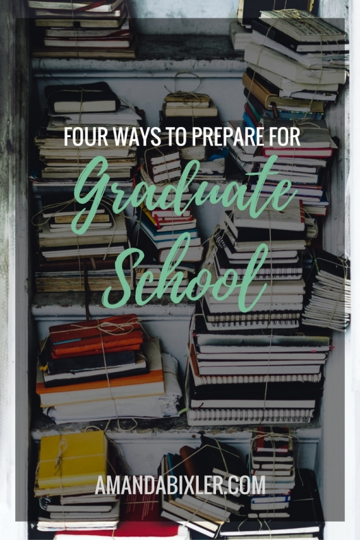 Gah! A new school year is just around the corner. Now's the time to begin mentally and physically preparing for a new set of classes, books, and assignments | amandabixler.com