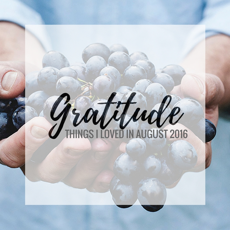 August was a big month for the Bixler's! We moved states, changed jobs, and for the first time in our life are actually experiencing the beginning of fall weather. Here are some other things we find ourselves deeply grateful for. | amandabixler.com