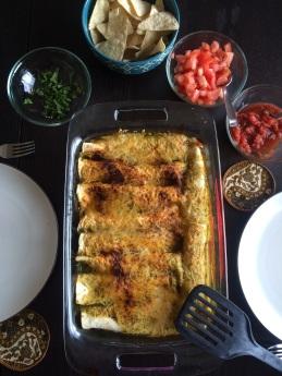 First Week in Colorado Springs: homemade enchiladas | amandabixler.com