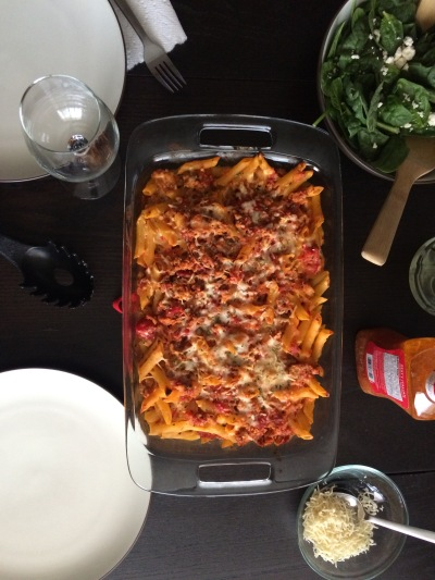 First Week in Colorado Springs: homemade baked ziti | amandabixler.com
