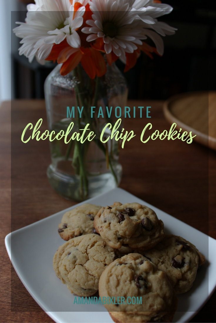 My favorite chocolate chip cookie recipe | amandabixler.com