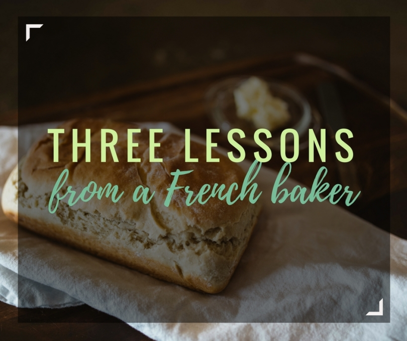 Last week I pulled the trigger and attended a French baking class - something I've wanted to do for a LONG time! These are three tips the instructor taught is about making homemade baguettes | amandabixler.com