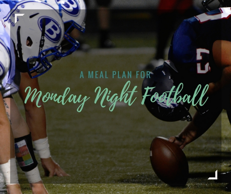 Do you love to watch football? Are you looking for fun, new recipes that are local to the teams playing for Monday Night Football? Check out this meal plan, breaking down the 16-week season and providing suggestions of local meals to cook each Monday Night. | amandabixler.com