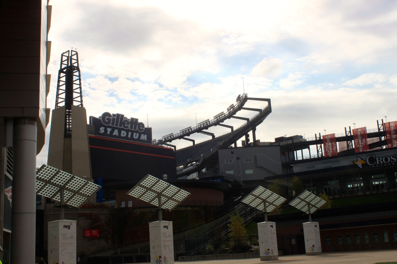 New England Patriots at Gillette Stadium in Foxborough, MA | amandabixler.com