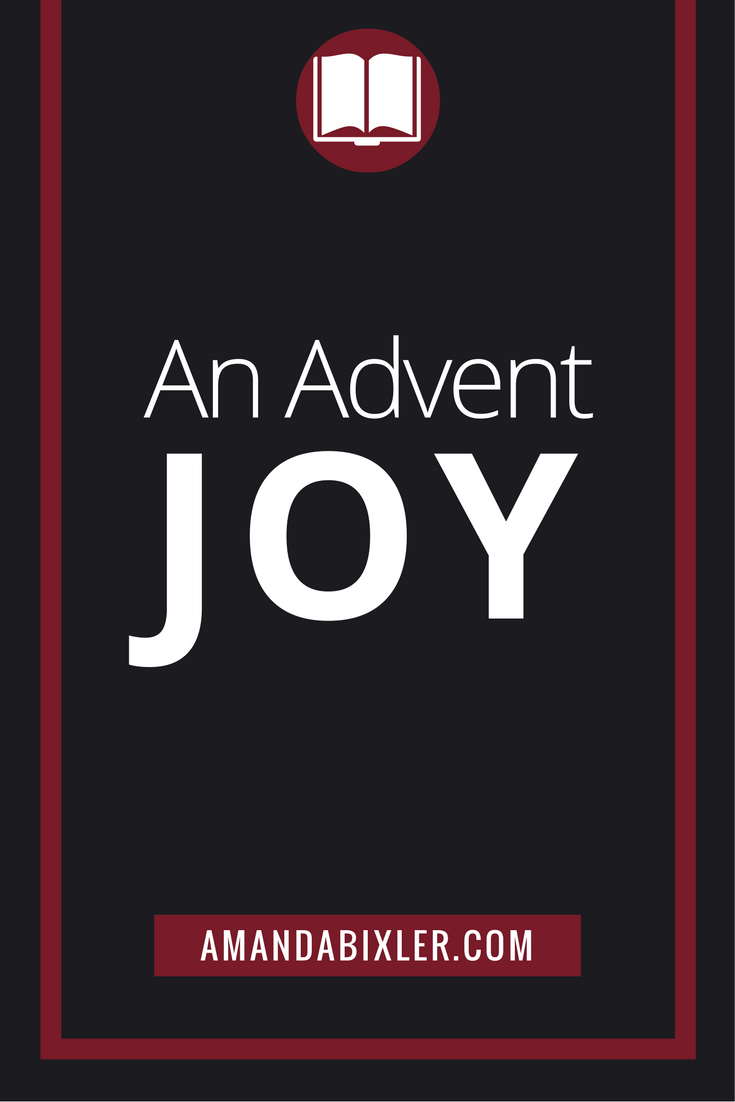An Advent Joy | amandabixler.com