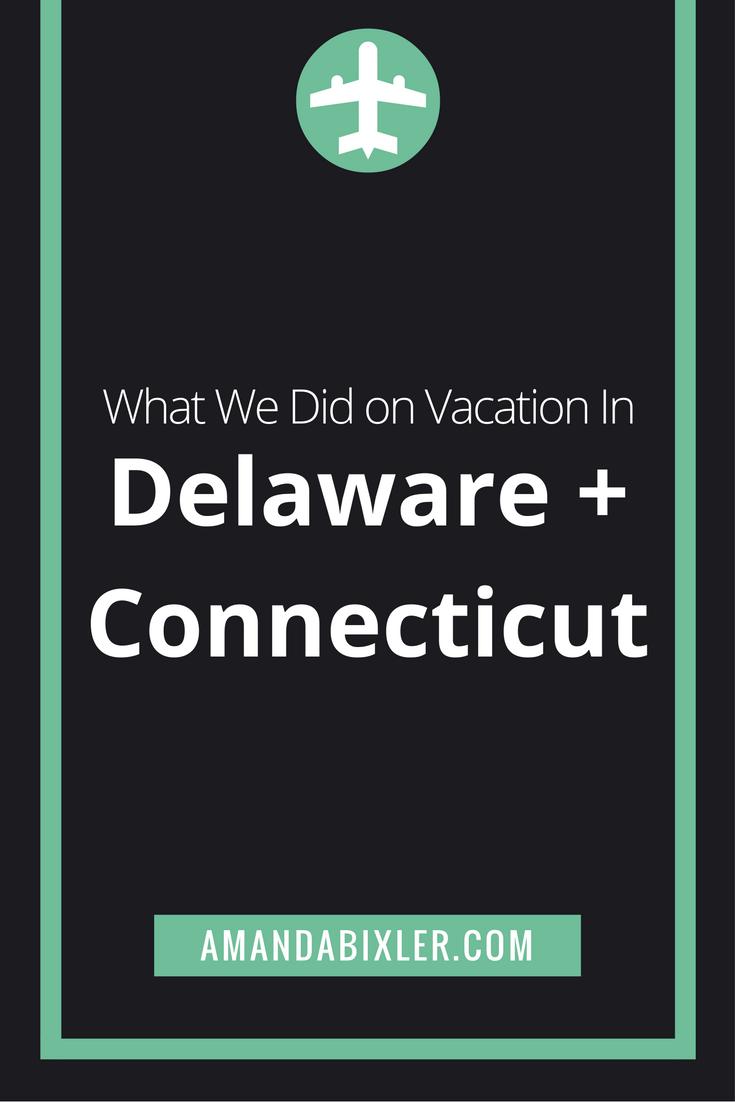Anniversary Roadtrip Through Delaware and Connecticut | amandabixler.com